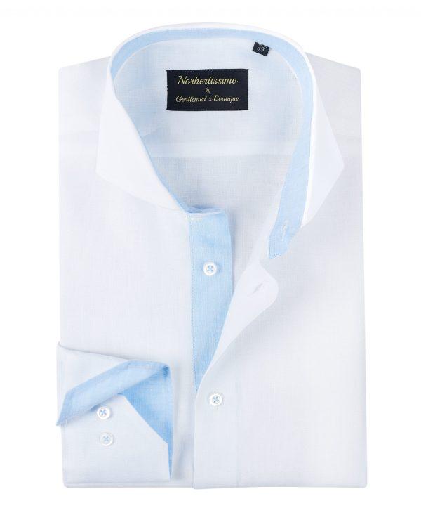 Camasa-In-Barbati-Alba-Cu-Bleu-Camasi-Barbati-Gentlemens-Boutique-Gold-