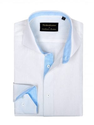 Camasa-In-Barbati-Ivory-Cu-Bleu-Camasi-Barbati-Gentlemens-Boutique-Gold-