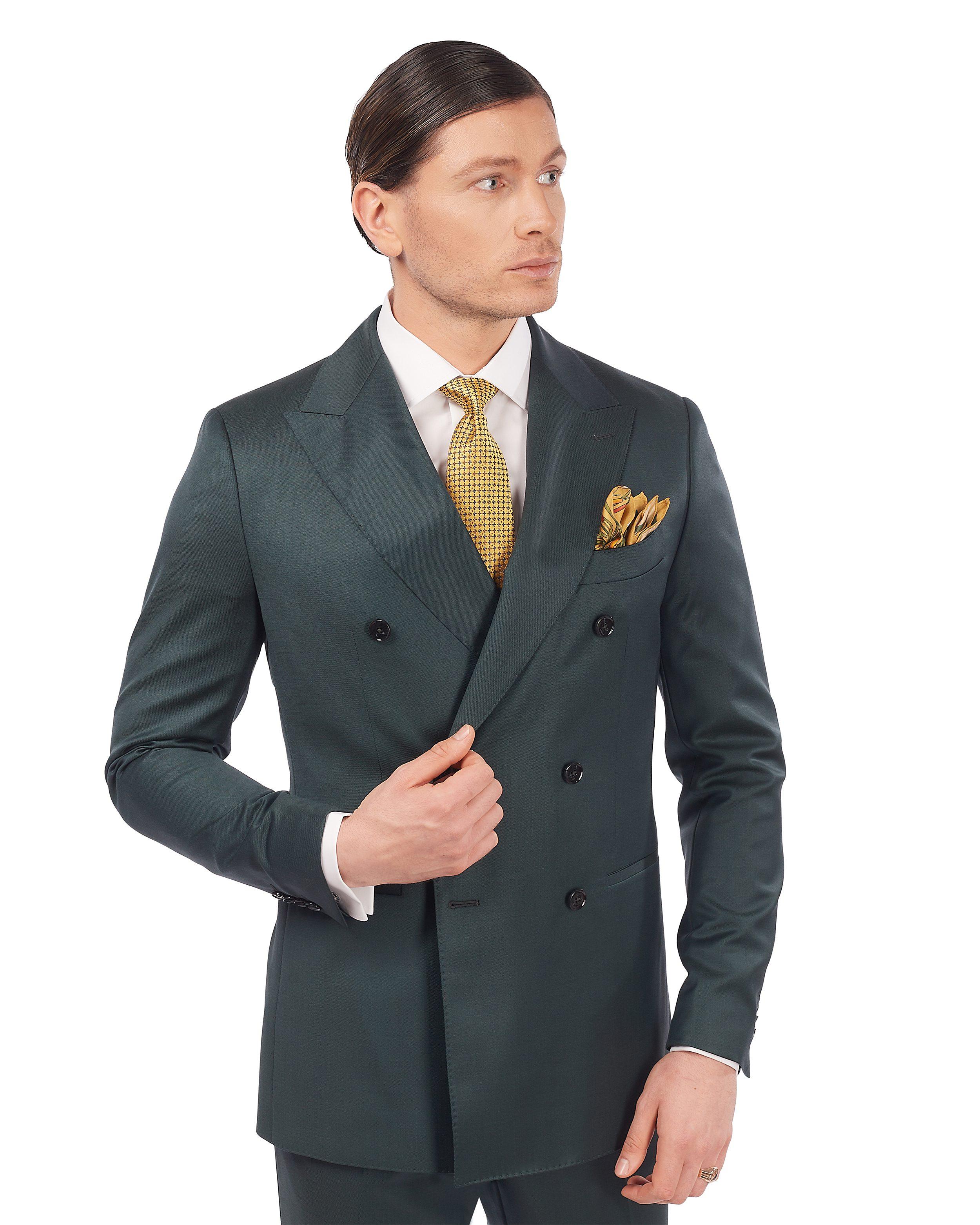 Costum-Barbati-Double-Breasted-Verde-Olive-Magazin-Costume-Barbati-Cluj-Napoca-Gentlemens-Boutique-Gold-Soporului-8-