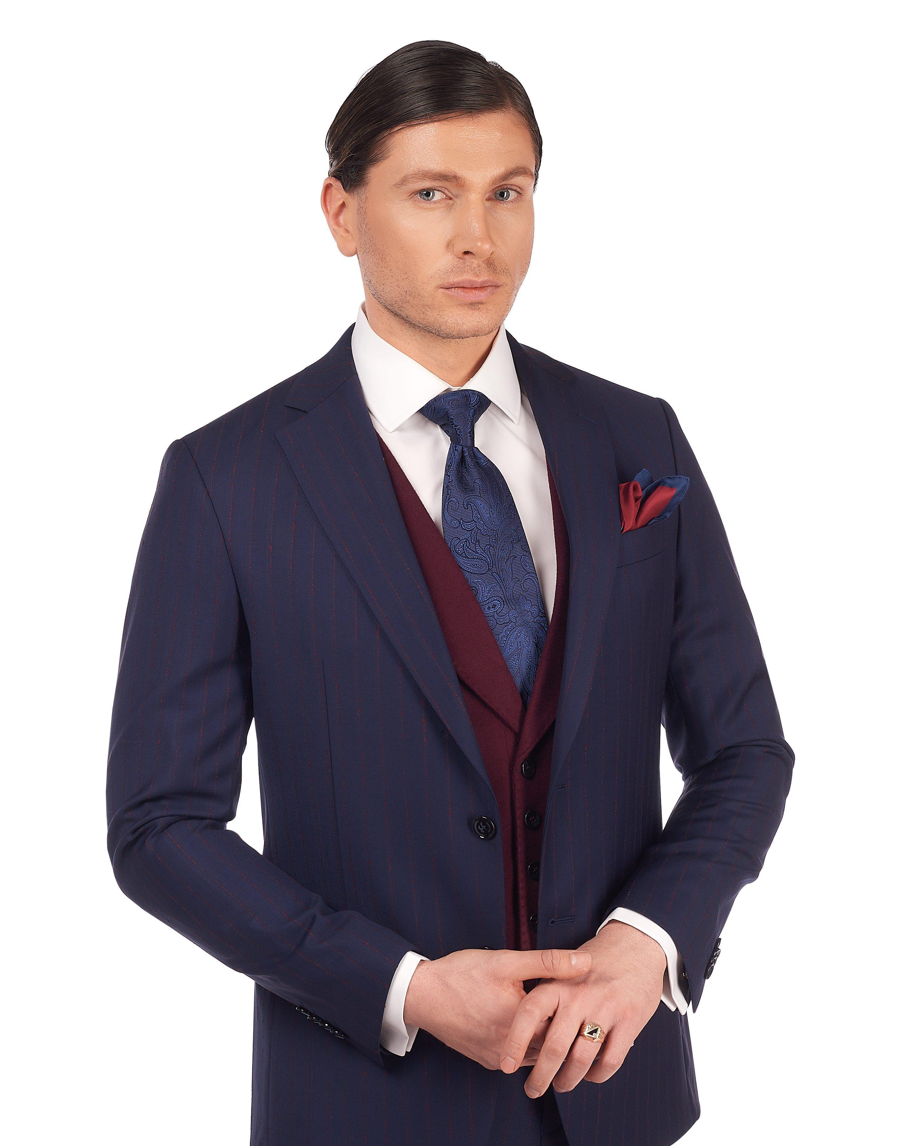 Costum-Bleumarin-Barbati-Cu-Vesta-Bordo-Magazin-Costume-Barbati-Cluj-Napoca-Gentlemens-Boutique-Gold-Soporului-8-