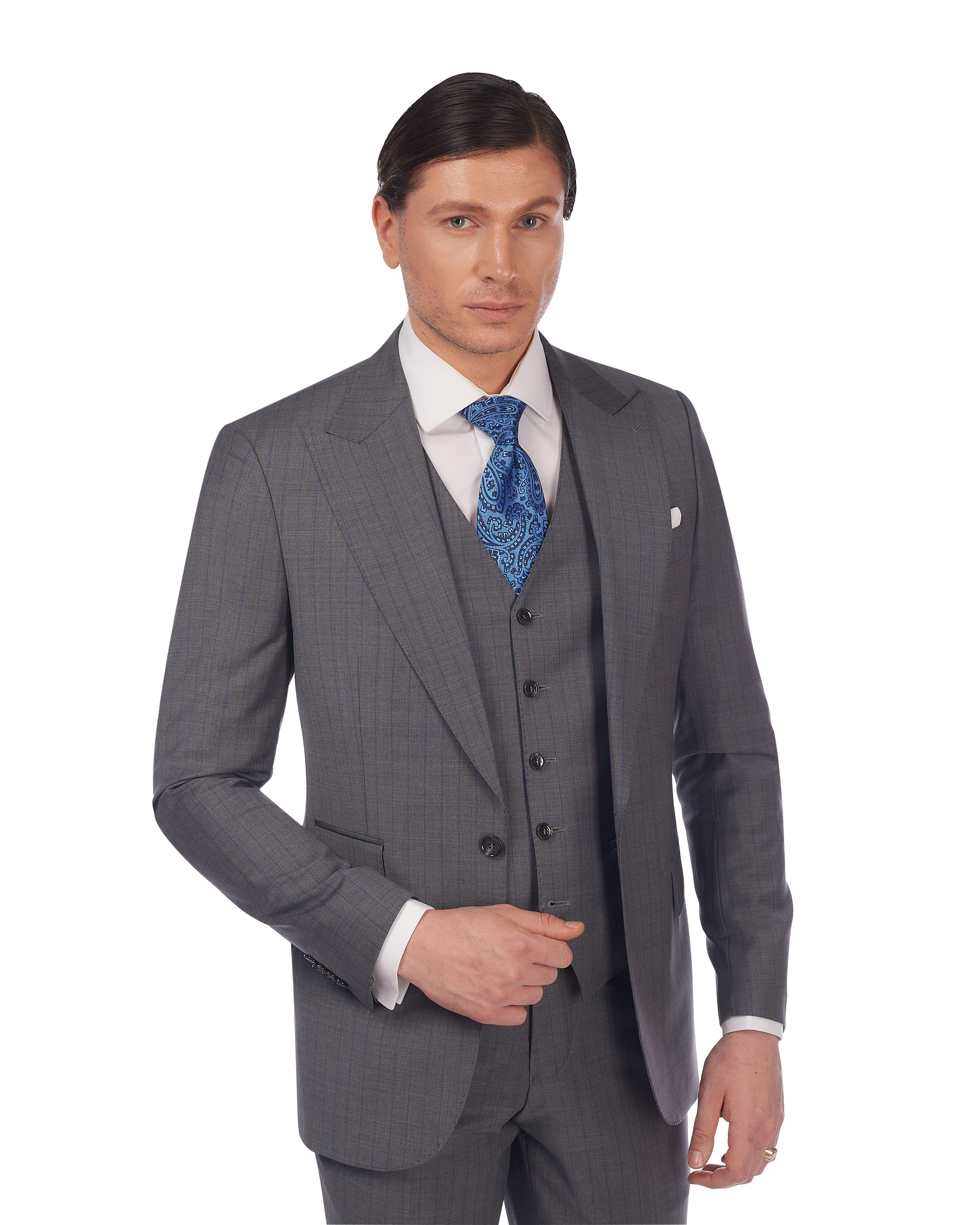 Costum-Elegant-Cu-Vesta-Gri-Magazin-Costume-Barbati-Cluj-Napoca-Gentlemens-Boutique-Gold-Soporului-8-